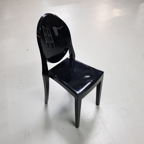 Vintage zwarte stoel